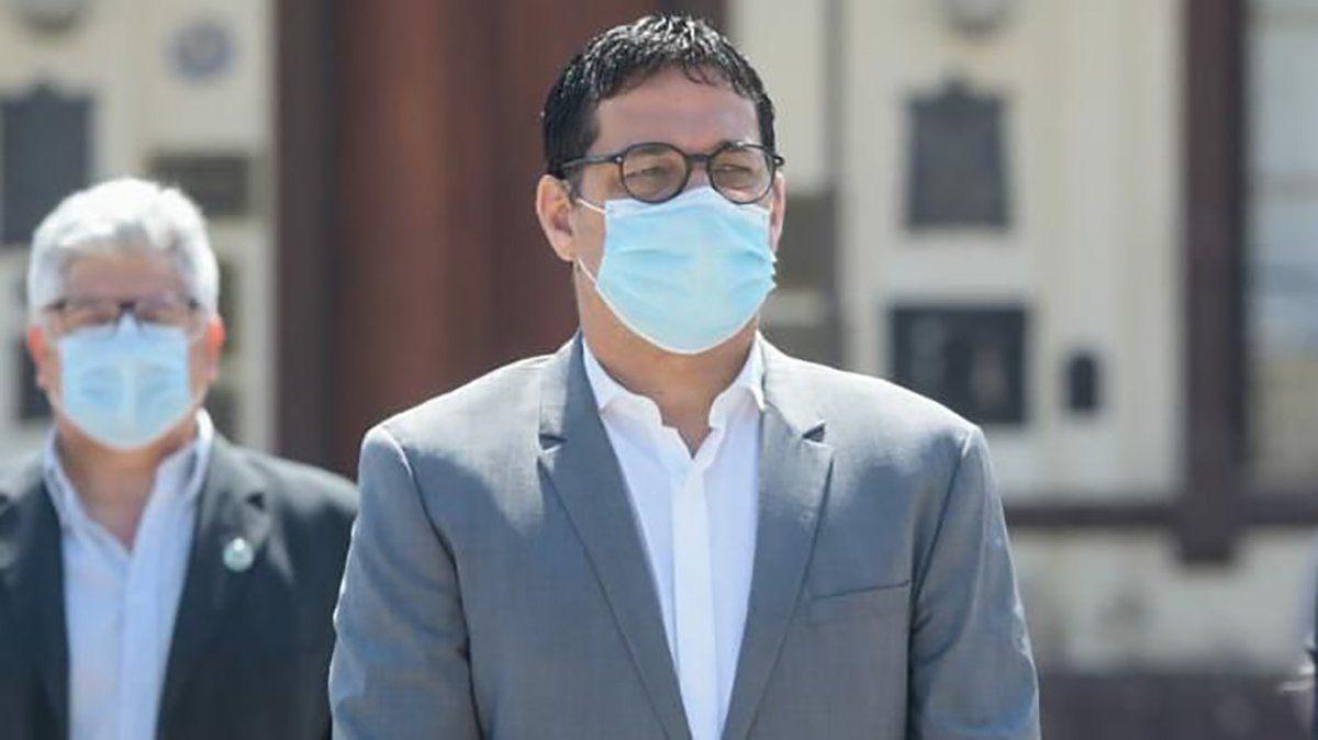 El intendente de Villa Nueva dio positivo a coronavirus.