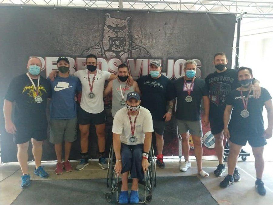 Pesas: Villa María realizó el campeonato regional de powerlifting
