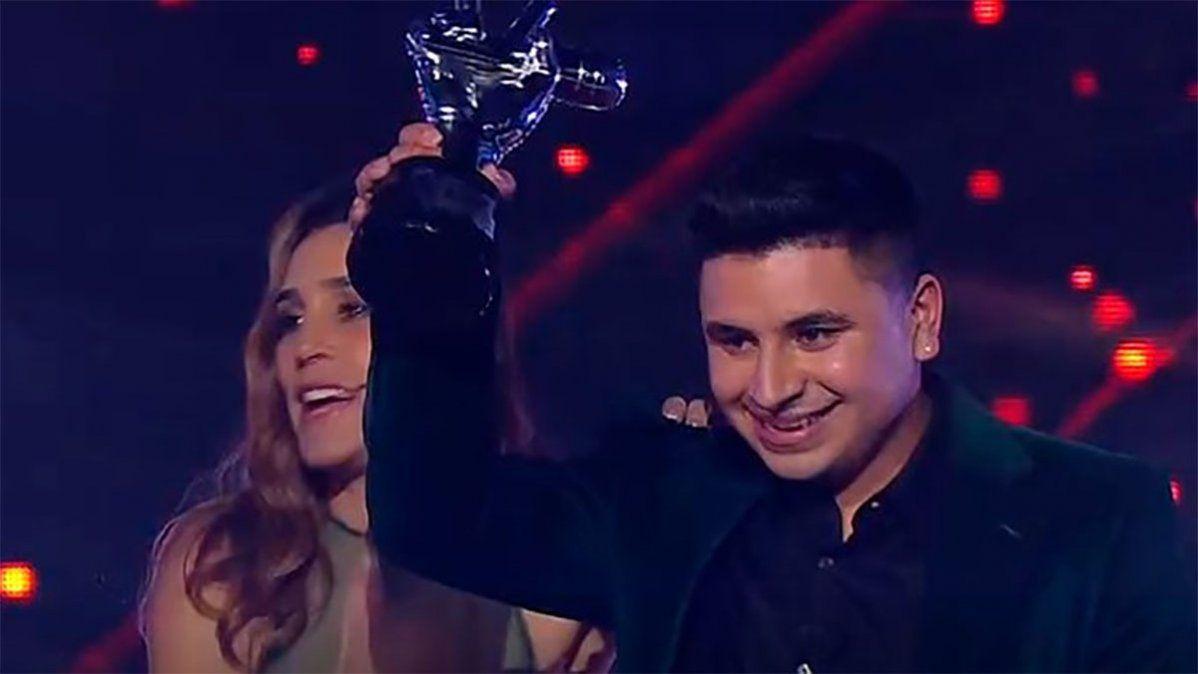 Tras ganar La Voz, Francisco Benítez fue papá