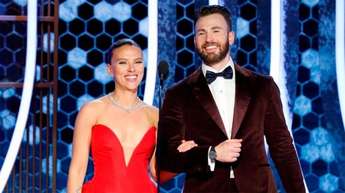 Scarlett Johansson y Chris Evans, de nuevo juntos y mimosos