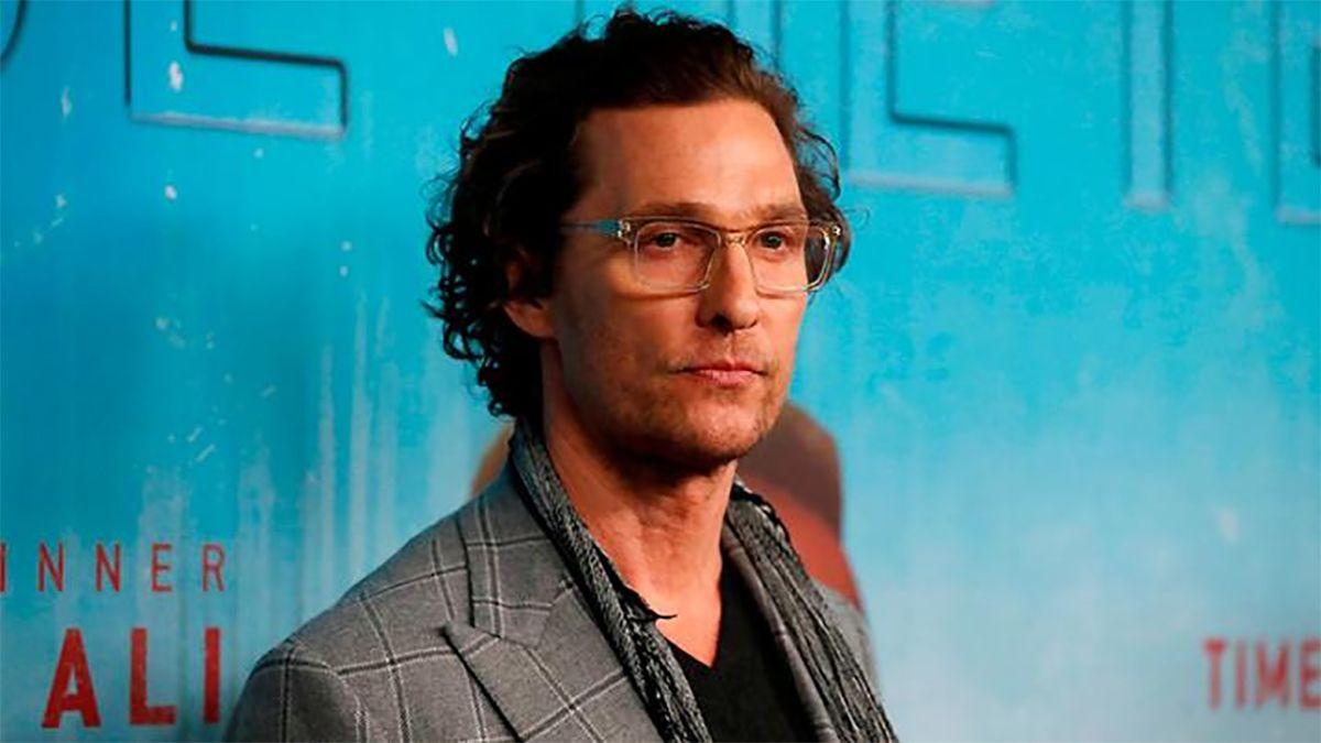 Matthew McConaughey reveló que fue abusado sexualmente