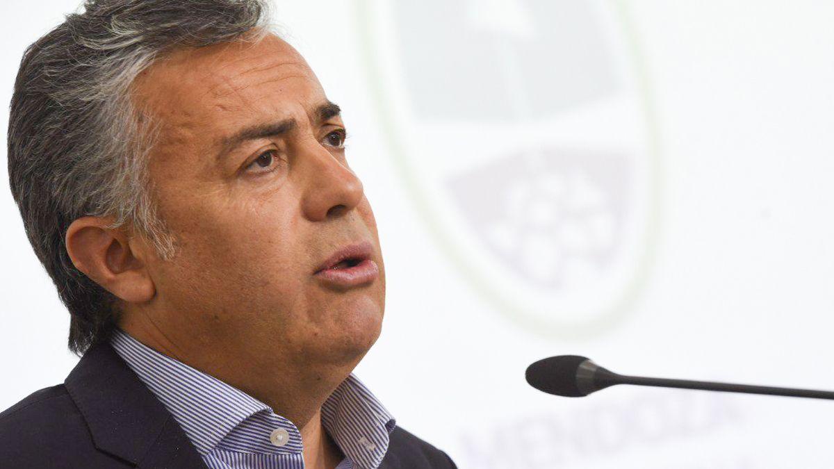 Alfredo Cornejo disertó en el Ciclo Argentina Moving Forward.