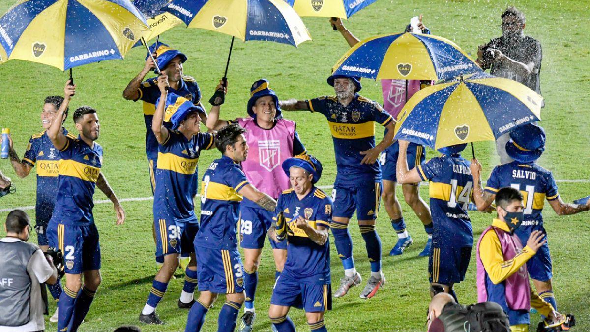 Boca le ganó por penales a Banfield y una vez más se consagró campeón