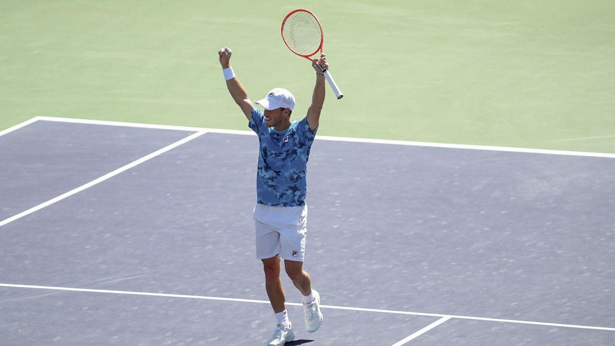 Schwartzman se metió en los cuartos de final de Indian Wells