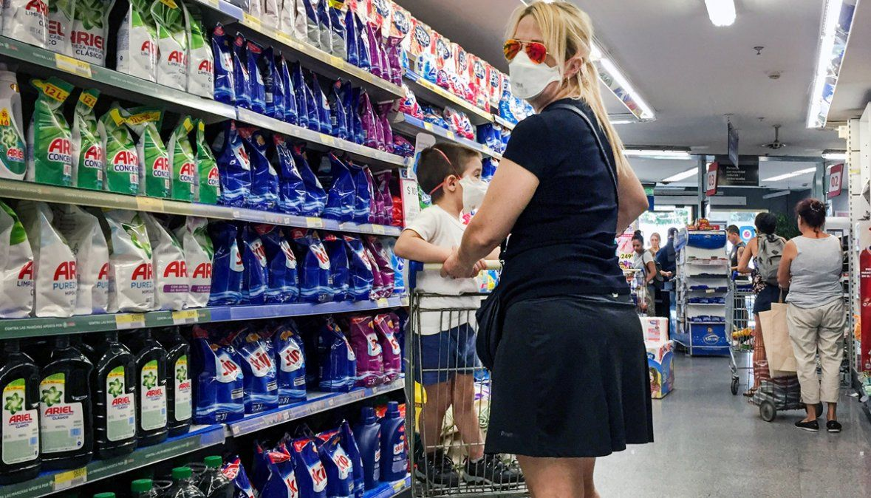 En agosto, seis de cada diez supermercados de  la Argentina registraron caídas en sus ventas