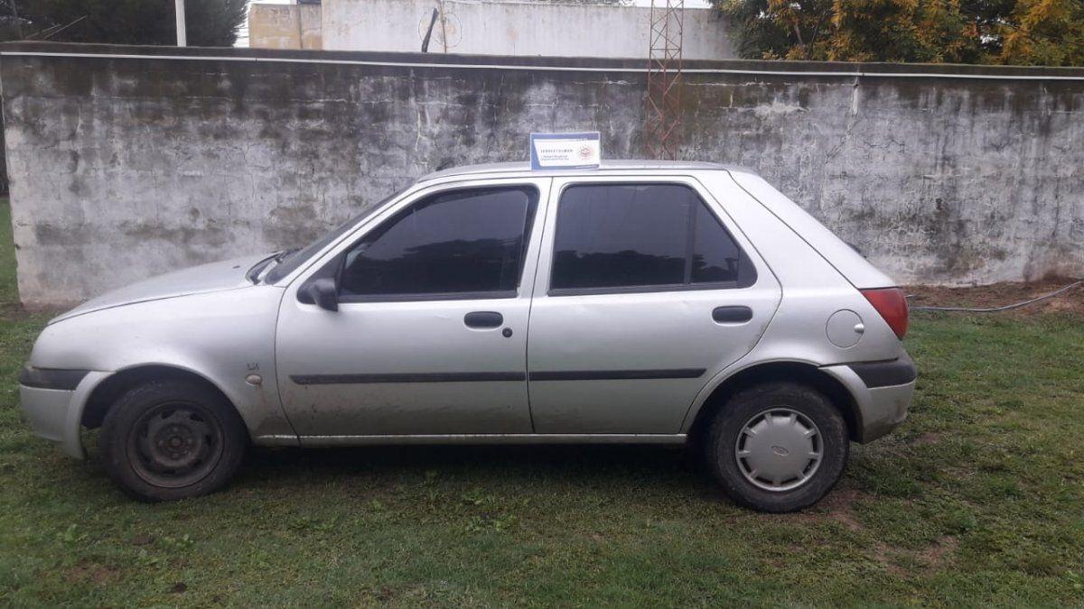 El automóvil secuestrado había sido usado en los atracos.