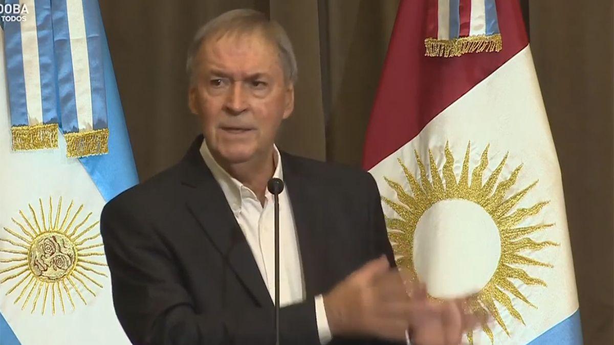 Juan Schiaretti anunció que Córdoba reestructuró la deuda con éxito