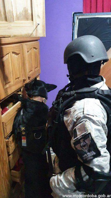 FPA incautó un ladrillo de cocaína, marihuana y armas de fuego