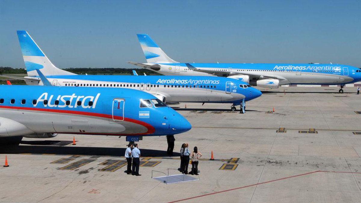 Con restricciones, vuelven desde hoy los vuelos de cabotaje