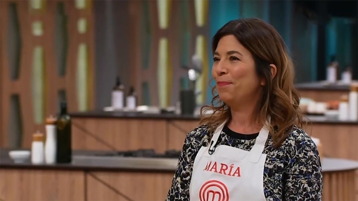María O´Donnell en MasterChef Celebrity 2 (Foto: Marca)