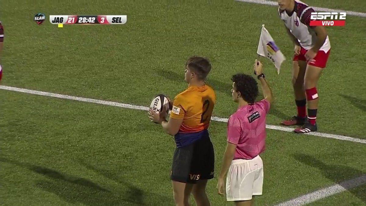 Jaguares XV y Martín Vaca a semifinales de la Superliga Americana de Rugby