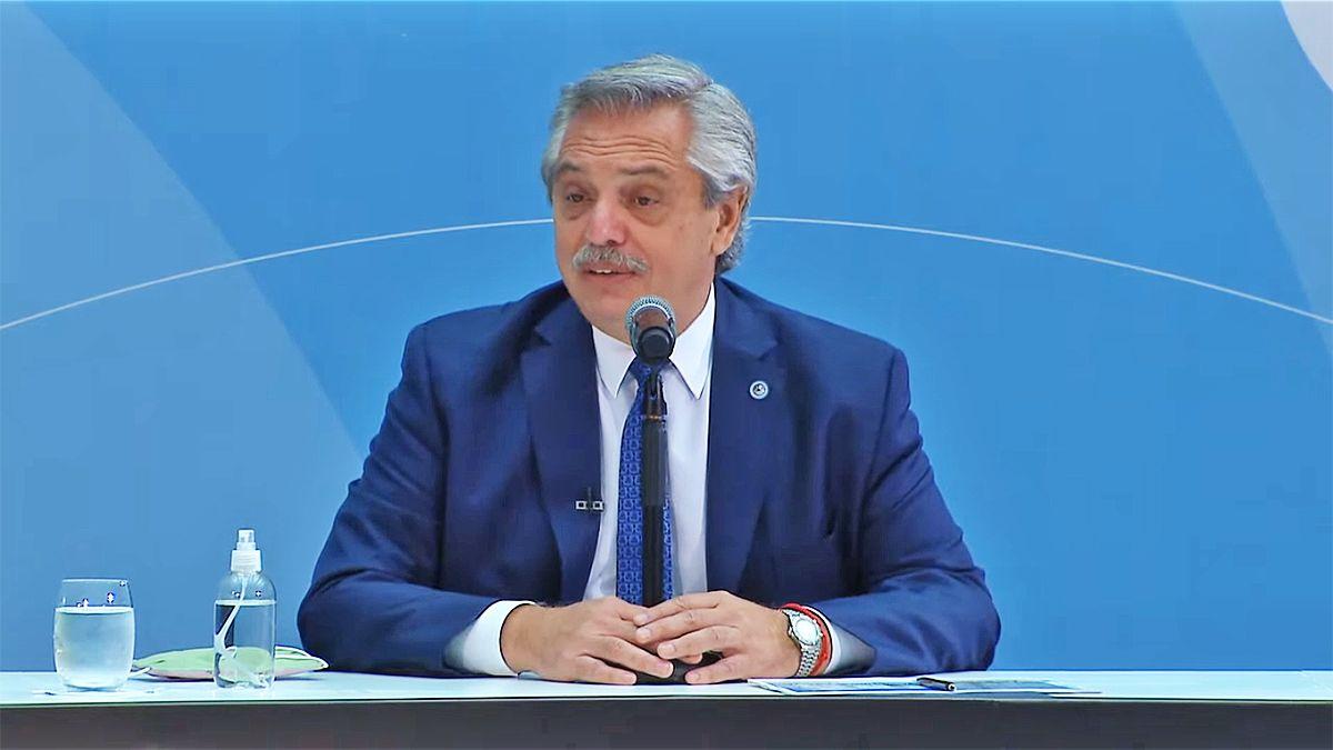 El presidente Alberto Fernández dijo hoy que su mayor urgencia son los que no tienen casa ni trabajo