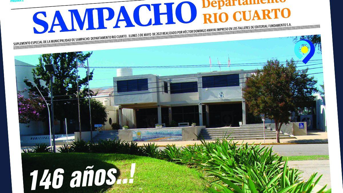 Mirá el suplemento especial por el 146º aniversario de Sampacho