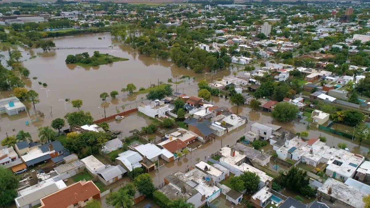 Temporal en Marcos Juárez: relevan daños para asistir a damnificados