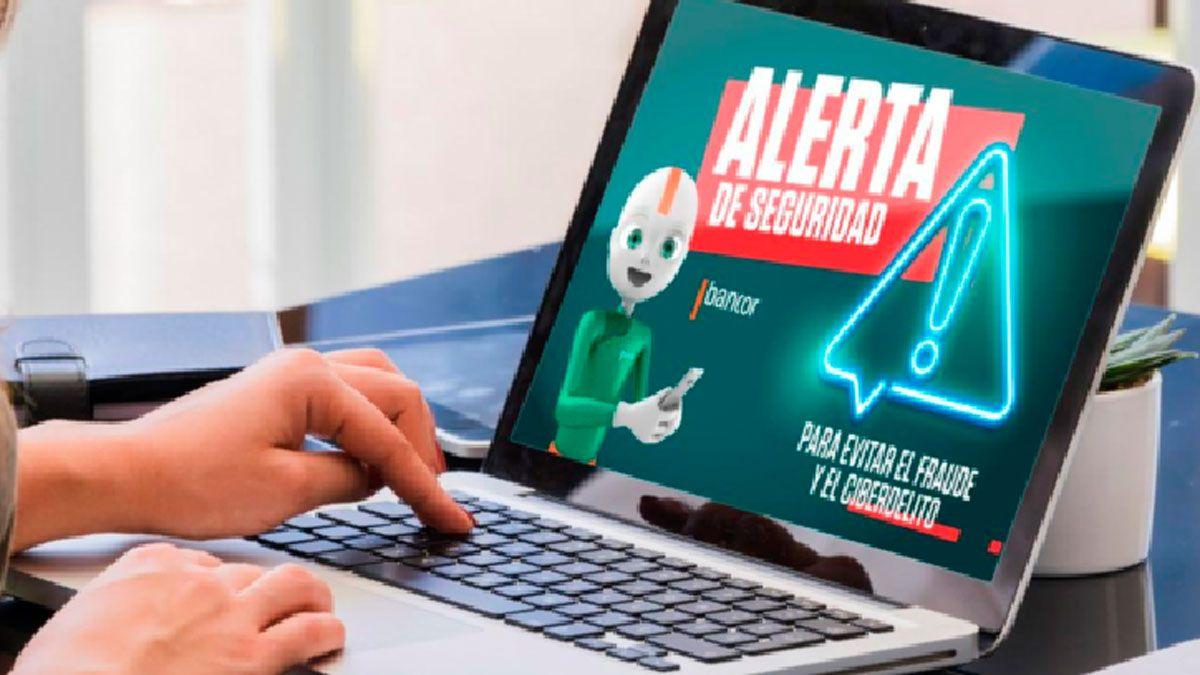 Los bancos han intensificado en los últimos meses las campañas para alertar sobre los ciberdelitos.