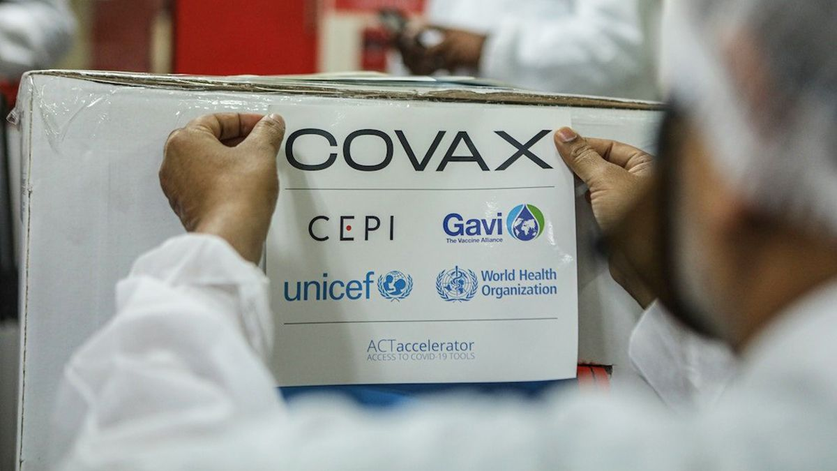 Llegan las primeras 218 mil dosis del sistema Covax