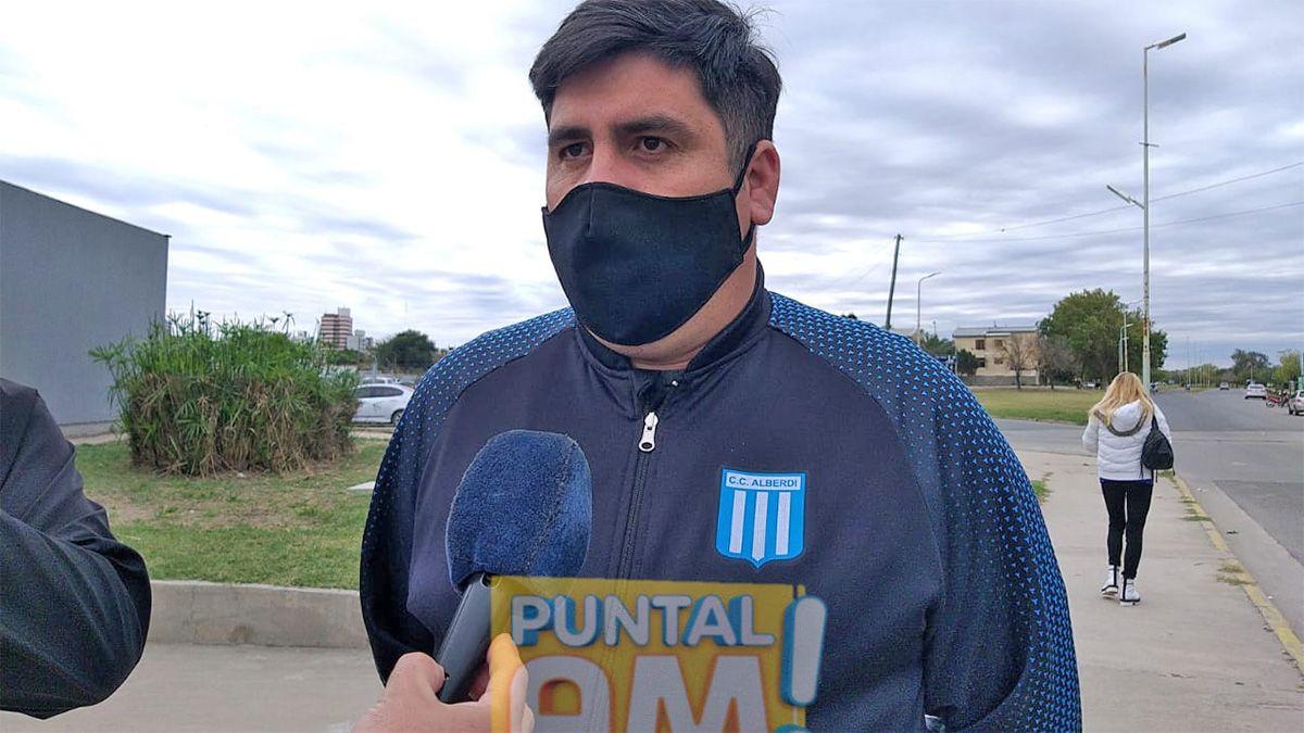 Ezequiel Lucero (Centro Cultural Alberdi) pidió por el retorno a las competencias deportivas.