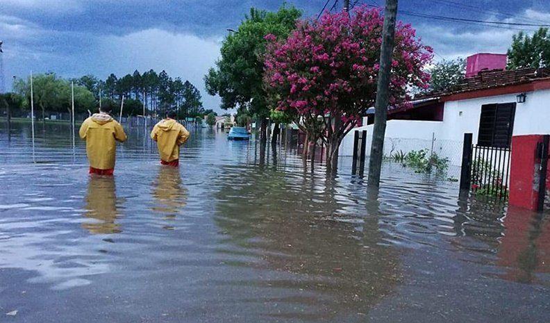 Otra vez la lluvia generó complicaciones