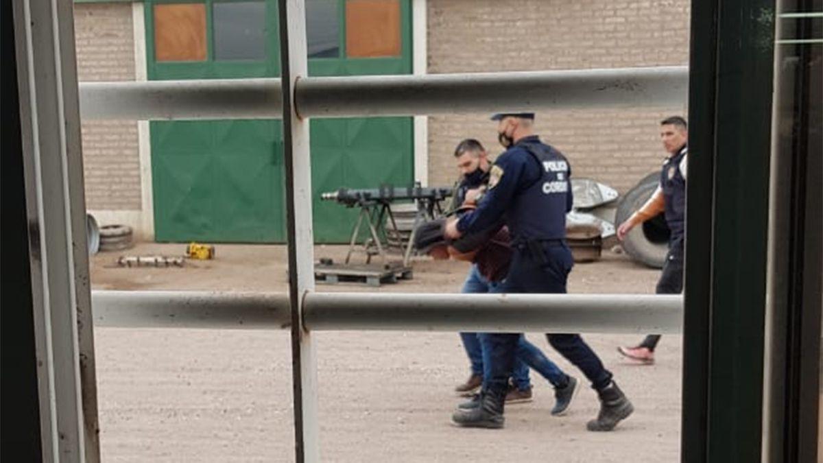 Un sujeto terminó detenido luego de la persecución en inmediaciones de ruta A005.
