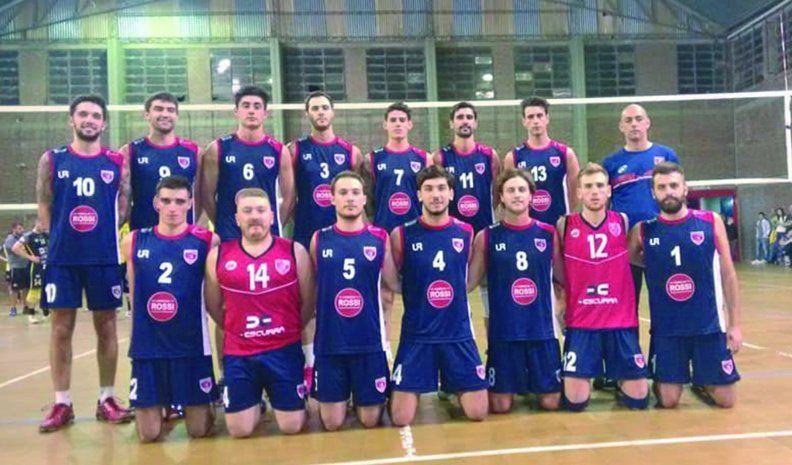Trinitarios festejó en el clásico  del vóleibol villamariense con  un infartante 3-2 sobre Rivadavia