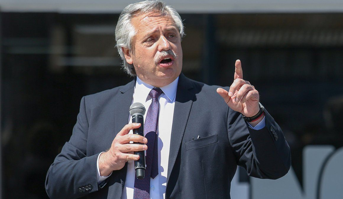 El presidente Alberto Fernández habló de distintos temas con Verbitsky.