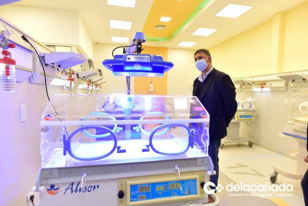 En Villa María inauguraron la neonatología más grande del país