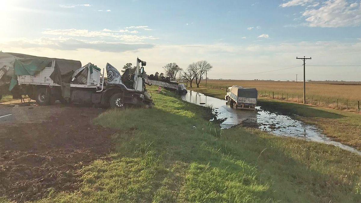 Un camionero de Santa Eufemia perdió la vida en proximidades de Justiniano Posse.