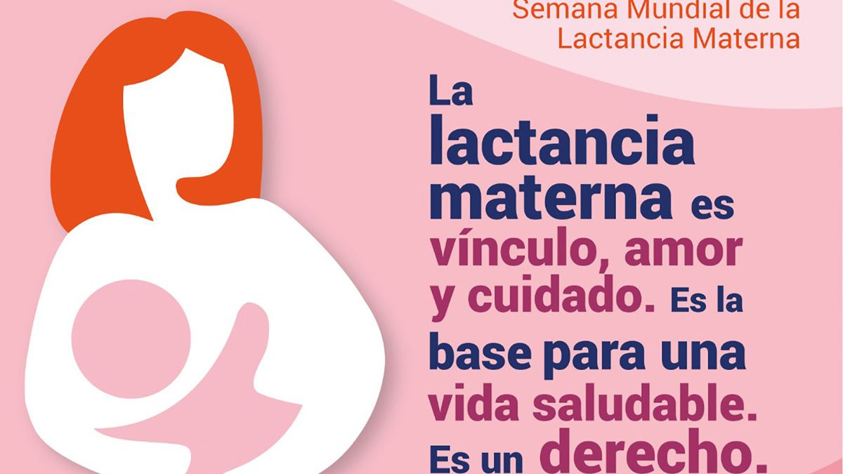 La Defensoría de la Niñez lanzó una campaña de concientización sobre la relevancia de la lactancia materna.