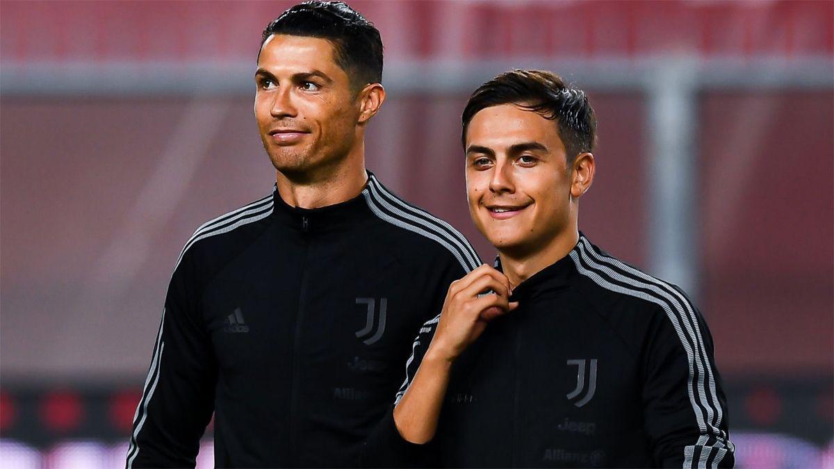 Paulo Dybala y Cristiano Ronaldo ya gritaron 100 goles en la Juve.