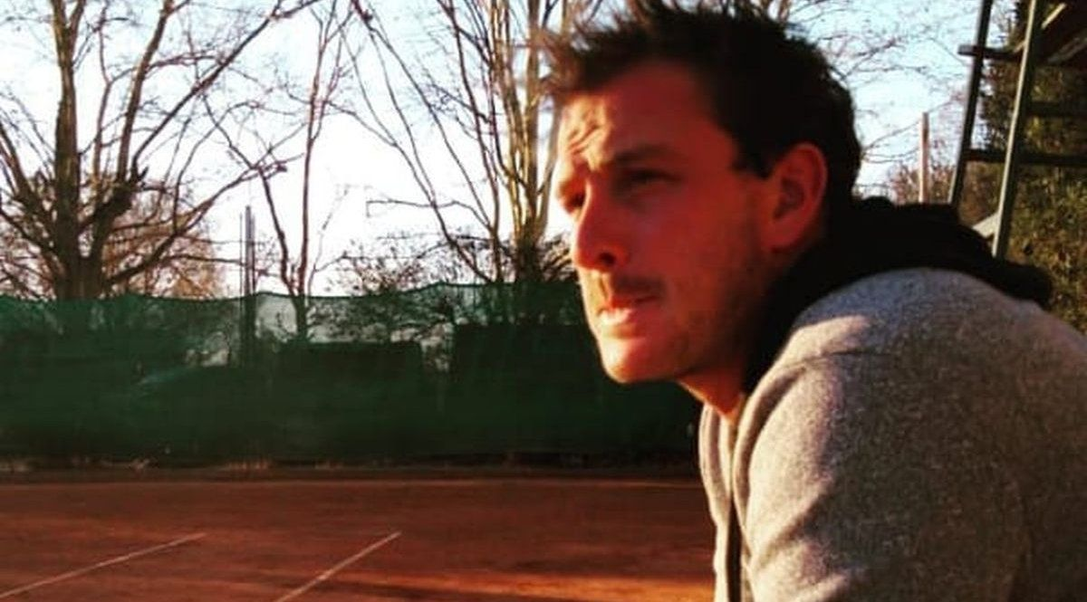 Andrés Ceppo y la preocupación ante la inactividad del tenis. Buscarán una respuesta por parte de las autoridades.