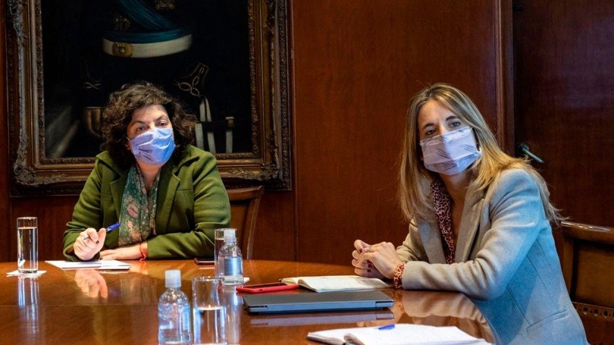 Vizzotti habló desde Cuba donde se encuentra junto con la asesora presidencial Cecilia Nicolini.