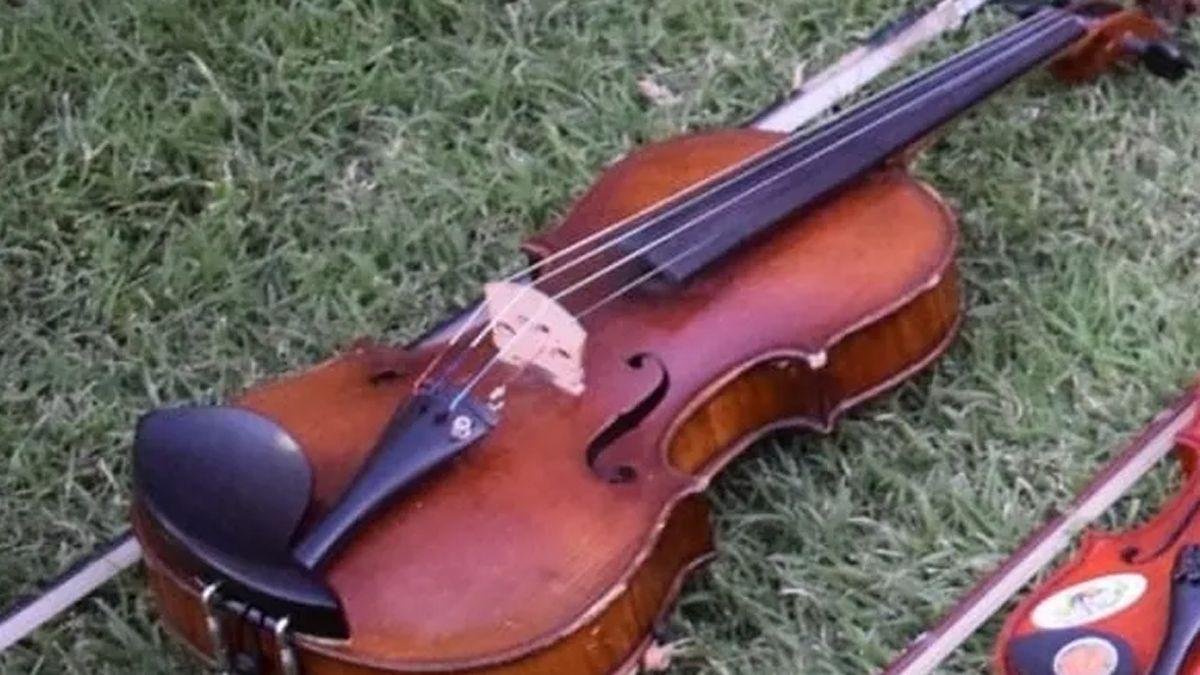 El violín había sido extraviado en la ruta 35