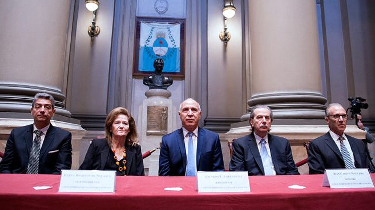 La Corte ratificó los traslados de los jueces pero ordenó que obtengan el acuerdo del Senado