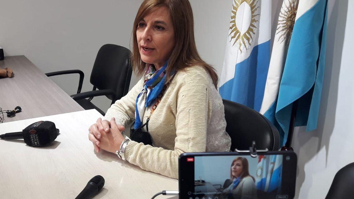 La coordinadora provincial de la ONG Grooming Argentina