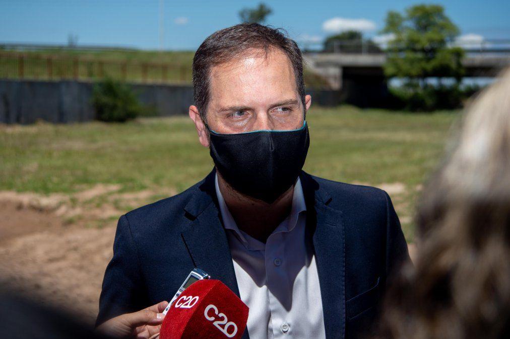 """Martín Gill no quiso dar declaraciones sobre la postura de Accastello y manifestó que no opinará porque es necesario """"sumar""""."""