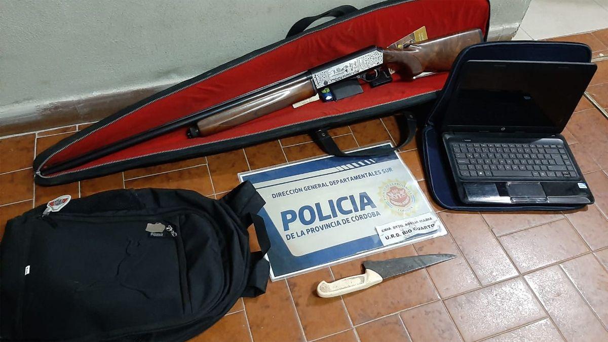 Recuperaron elementos denunciados en Río Cuarto y Adelia María
