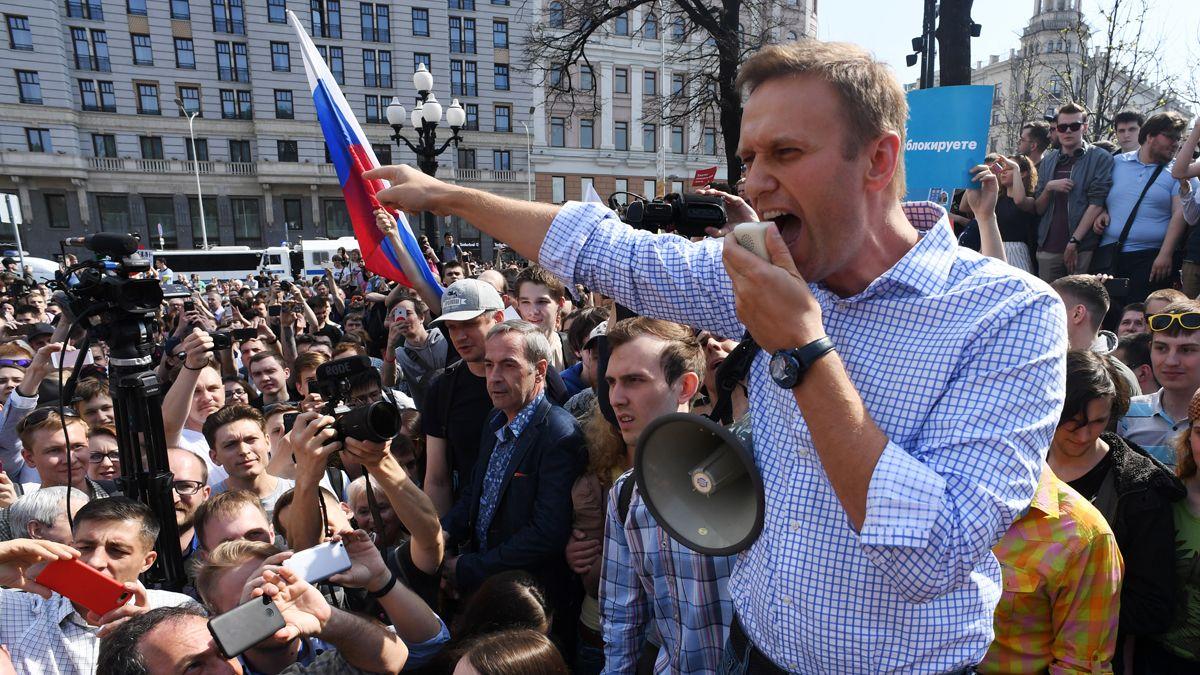 El líder opositor ruso Alexei Navalny