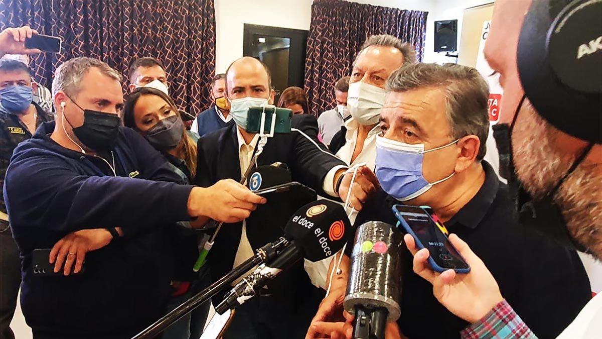El diputado Negri habló de la crisis en el Gobierno.