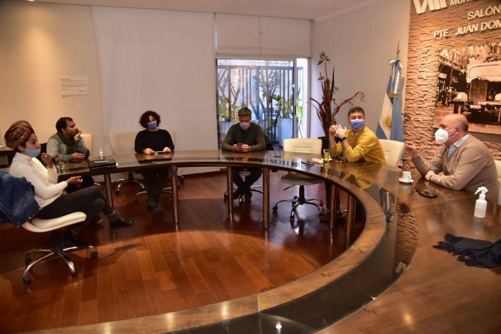 El proyecto lo dio a conocer Rosso en una reunión que formalizó ayer con representantes de la Asamblea Socioambiental Villa María.