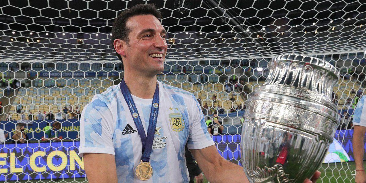 Scaloni manifestó su admiración por Messi