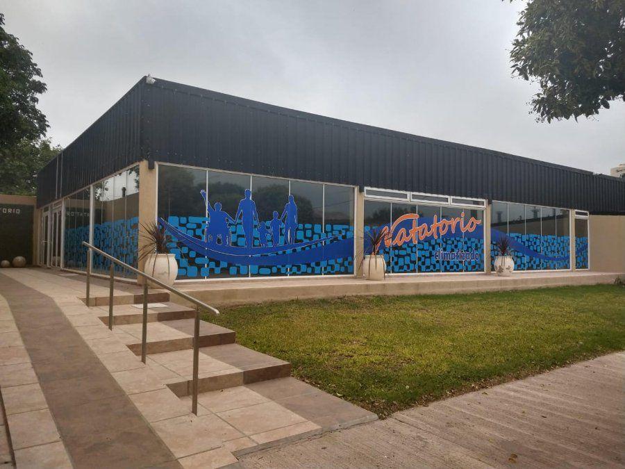 Se inaugura el natatorio climatizado municipal en La Playosa