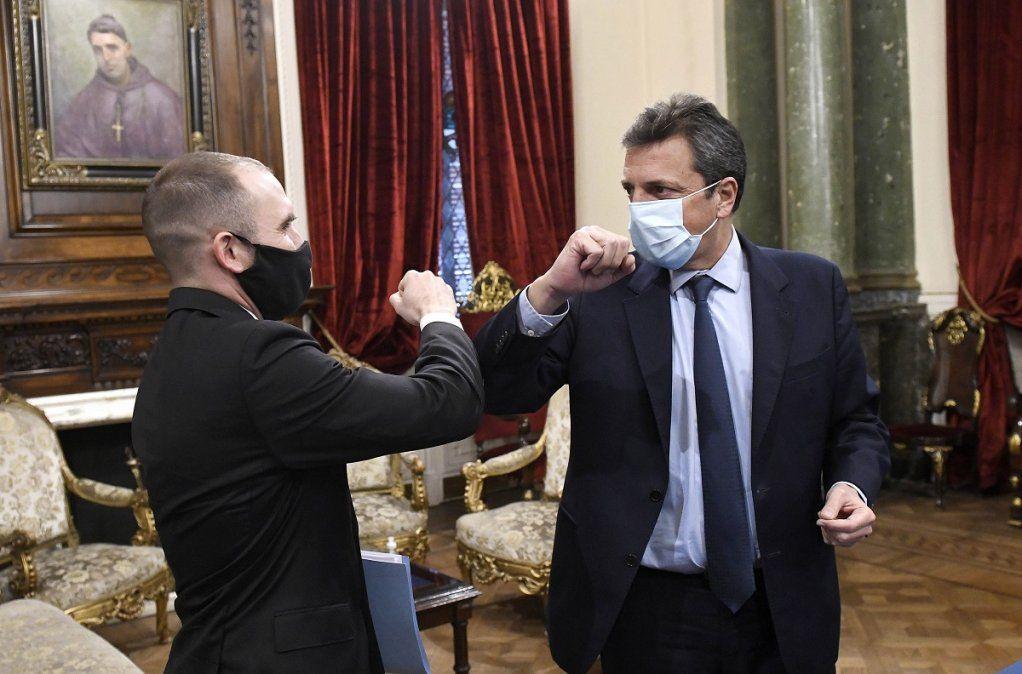 Coronavirus entre los funcionarios del Gobierno: El resultado de Guzmán dio negativo y Massa aguarda el resultado de su hisopado.