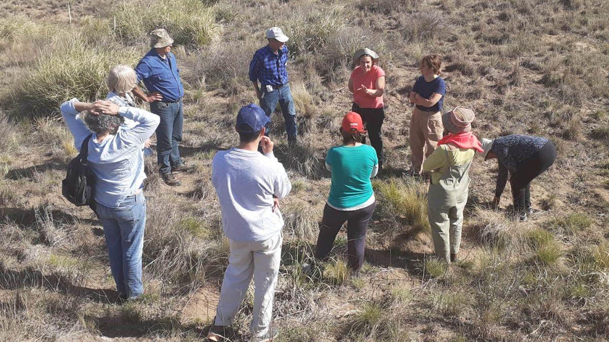 Productores del sur cordobés se reunieron en un establecimiento rural cercano a Villa Valeria el pasado sábado.