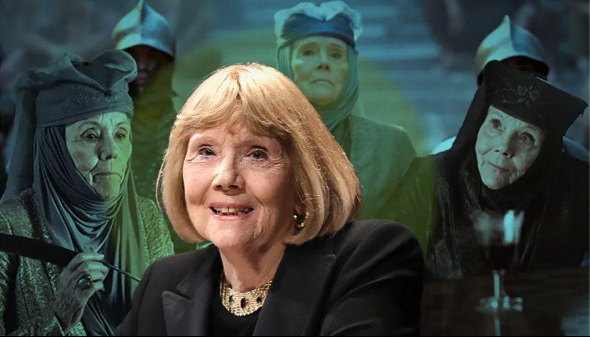 La icónica escena de Diana Rigg en Game of Thrones