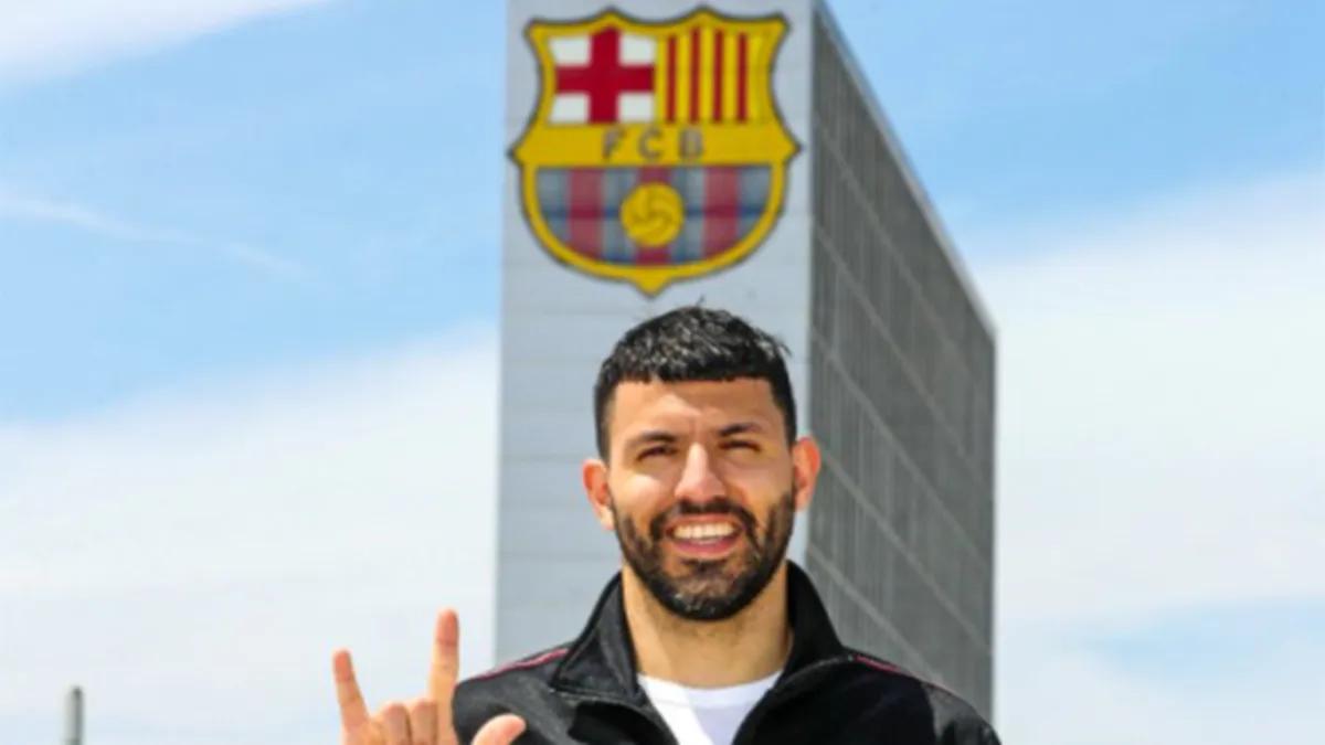 Agüero: Llegué al Barcelona con la expectativa de jugar junto a Messi