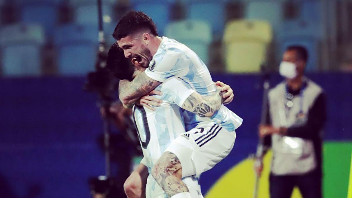 Argentina está en semifinales de la Copa América