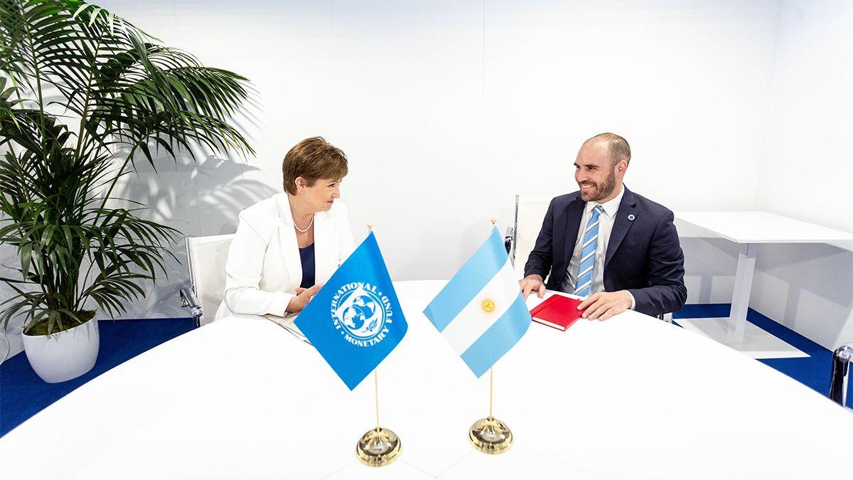 La reunión cumbre entre la Argentina y el FMI se produjo el sábado con el encuentro entre Guzmán y Georgieva.