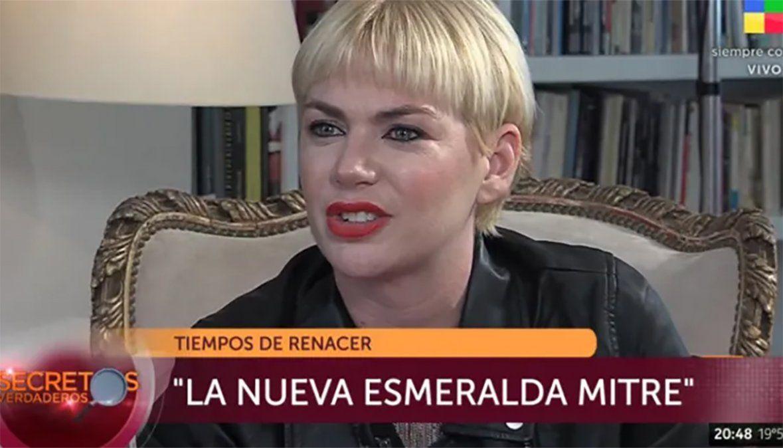 Esmeralda Mitre: reconciliada con la familia pero peleada con el mundo