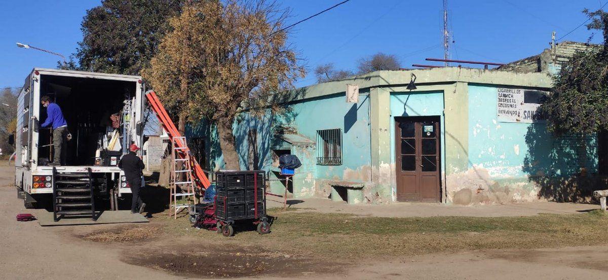 """El viejo almacén de Sanabria es la primera locación elegida para filmar """"El Matadero"""". El rodaje durará 6 semanas."""