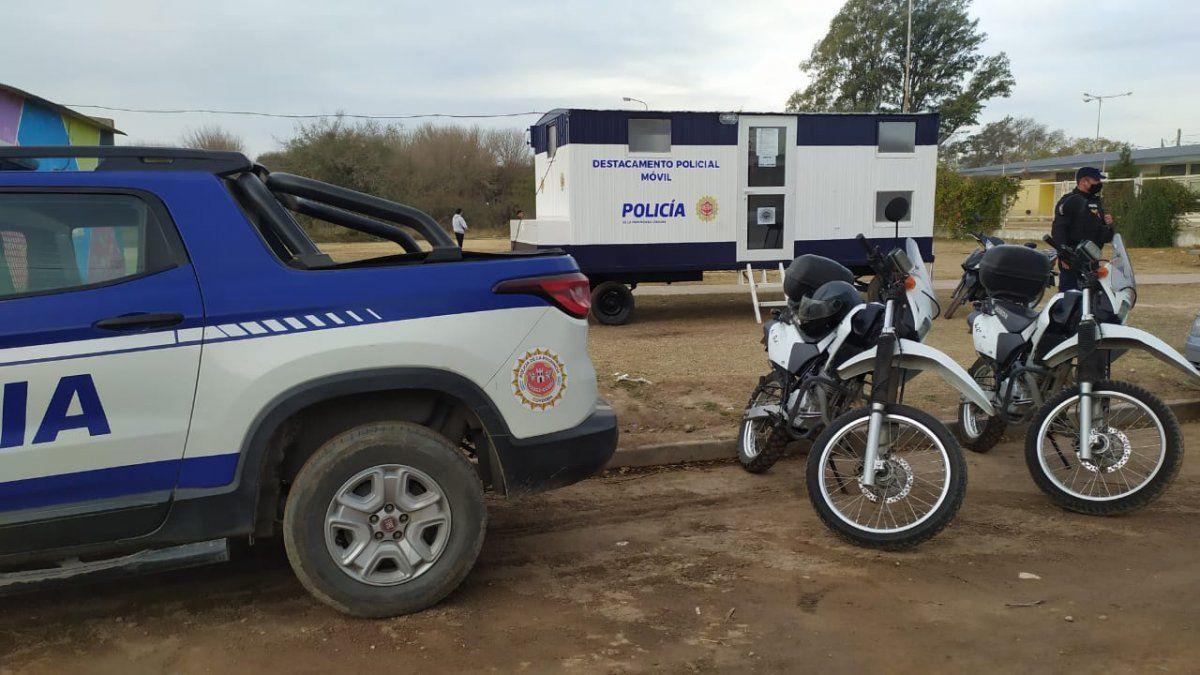Barrio Felipe Botta: celebración por el funcionamiento del destacamento policial móvil